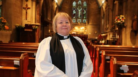 Rev Marion Williams is the new priest in charge of All Saints Church. Picture: Melissa Page