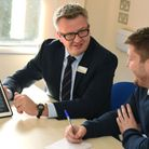 Hospital staff at King George Hospital are now using iPads to record patient data