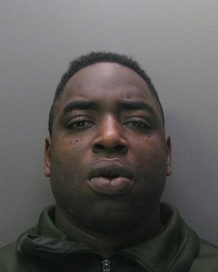 Tyssen Newland, 36, of Treecot Drive in Leigh-on-Sea, who was waiting in the back of the car, was se