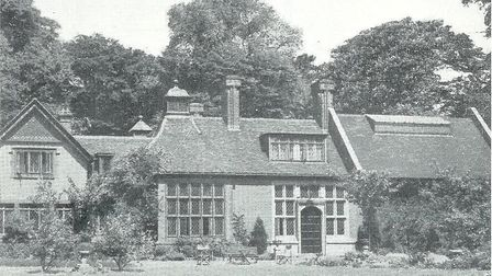 Nelmes Manor House in the 1950s. Picture: Brian Evans