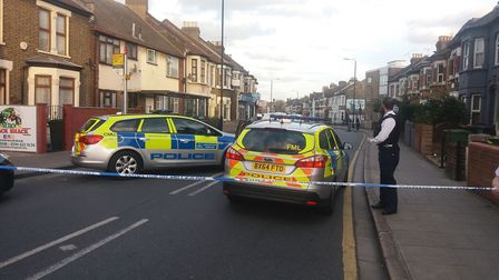 Police have cordoned off a section of Plashet Road following a stabbing of a teenager