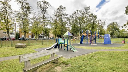 The playground in South Woodford. Picture James Burns