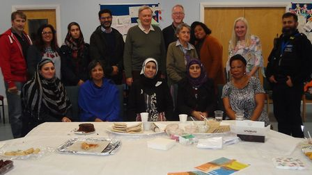 Members of the Havering Interfaith Forum celebrated religious dishes from around the world at a soci