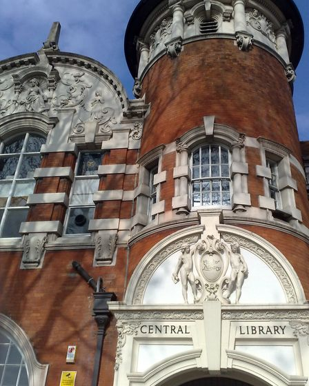 The library of the University of East London, Stratford campus. Picture: Secretlondon/Wikimedia Comm