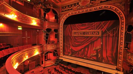 The interior of Theatre Royal Stratford East. Picture: Jamie Lumley/Wikimedia Commons