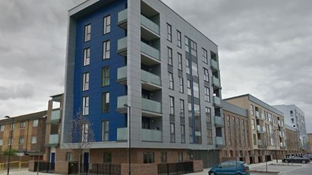 A block of flats within the Orchard Village estate, Rainham. Picture: Google Maps