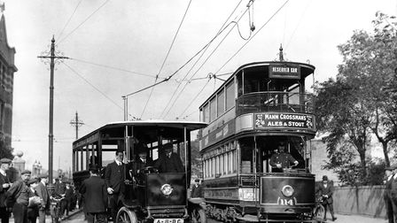 Louis Sinclair, MP tried to bring trams to Romford in 1903. Picture: PA