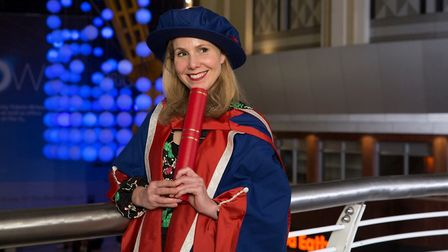 Sally Phillips Picture: Nick Harrison/UEL