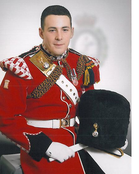 Drummer Lee Rigby. Picture: MOD