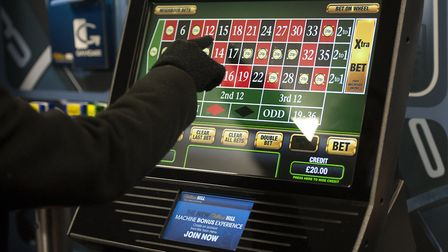 A fixed odd betting terminal. Picture: PA Images/Daniel Hambury