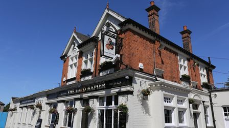 Stock picture of the Lord Napier Pub
