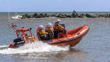 Sea Pauling Lifeboat. Picture: Michael Butcher