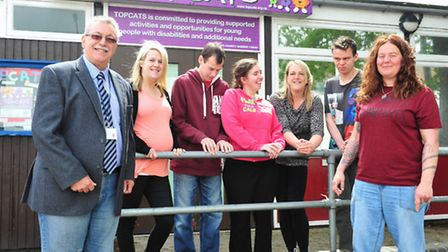 Topcats, which supports young people between 5-30 are raising money to refurbish and improve their b