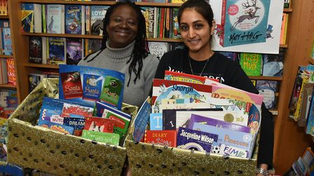 Newham Bookshop is one of many drop-off points. Picture: Ken Mears