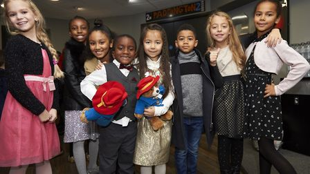 Children from the Carpenters and Docklands Centre at the Paddington 2 cinema screening Picture: M&S