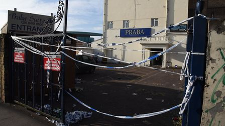 The Praba Banqueting Hall where a man was shot and stabbed in February