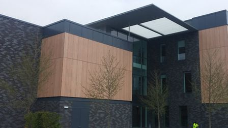 The new purpose-built offices south of Lake Lothing, known as Riverside. Picture: Submitted
