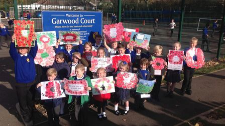 Pupils at Branfil Primary School commemorated Remembrance Day at a special ceremony on Friday. Photo