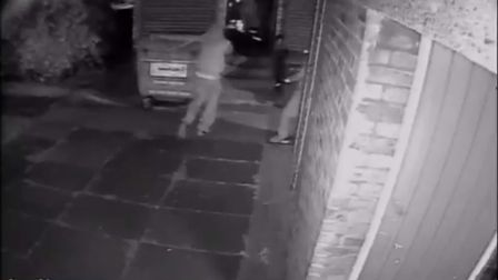 CCTV footage captured the shooting in Beatrice Close, Plaistow. Picture: Met Police