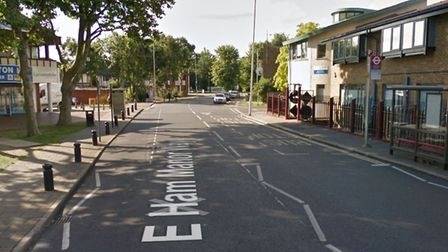 The boy was assaulted in East Ham Manor Way Picture: Google Maps