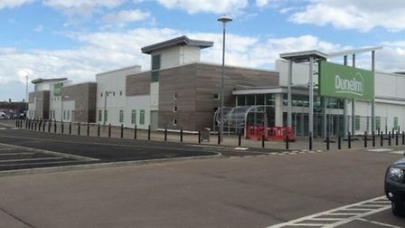 The new Dunelm furniture store in Lowestoft.
