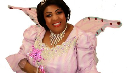 Panto stars who will appear in Sleeping Beauty at Lowestoft's Marina Theatre. Rustie Lee.