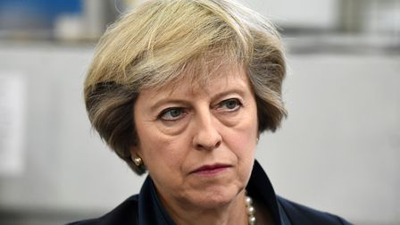 Prime minister Theresa May is facing growing anger over her Brexit plan from hardline Tories Photo: