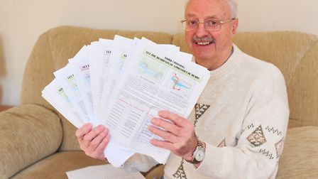 Mike Holroyd has organised a petition to see which option people favour most for the third crossing