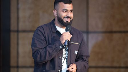 Ilford poet Hussain Manawer lost a friend to knife crime. Picture: New City College