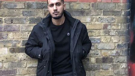 Youth worker Raheel Butt says it's easy to find videos promoting gang violence online. Picture: Emma