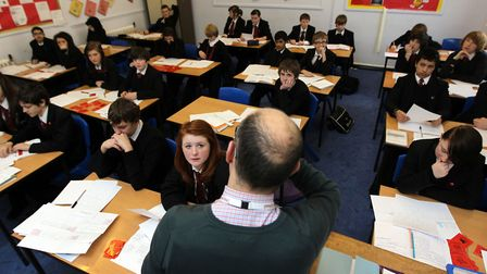Havering's secondary schools are performing below the national average. Picture: David Davies/PA