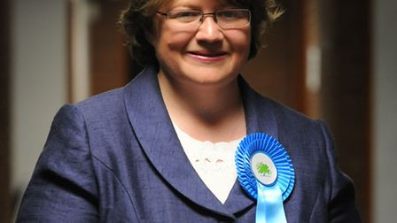 EADT/STARpics sarah lucy brown 6/5/10Conservative candidate Therese Coffey wins her seat in parliam