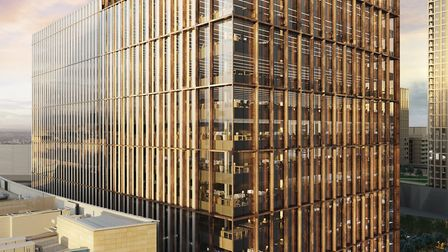 An artist's impression of the Westfield Avenue building that HMRC will occupy from late 2020