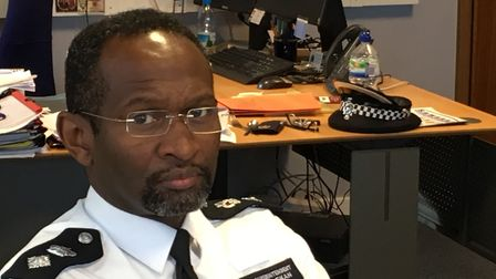 Newham Borough Commander Ade Adelekan said: 'This is about safe-guarding our young people'. Picture: