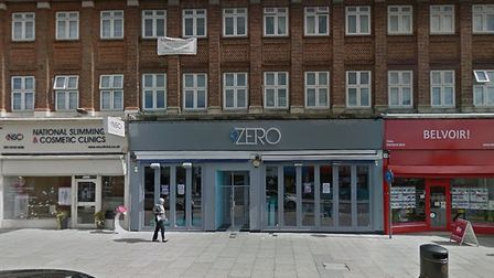 9Zero Bar, Cranbook Road, where two men were stabbed in the ealy hours of Sunday morning. Photo: Goo