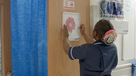 A still from the NHS England film about BHRUT's Daisy Scheme. Photo: BHRUT