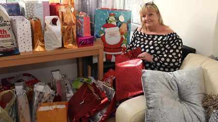 Lorraine has arranged for 146 vulnerable homeless children to receive presents from Father Christmas