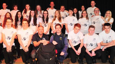 Students and staff from Benjamin Britten High School are set to take part in a charity skydive.