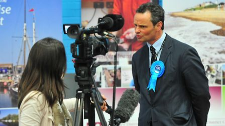 Waveney MP Peter Aldous.