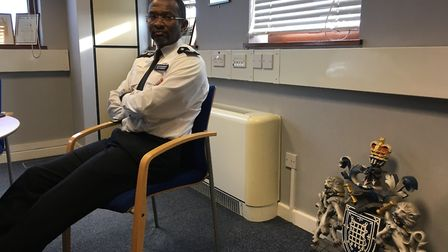 The borough commander has appealed for the community's help to prevent knife crime. Picture: Emma Yo