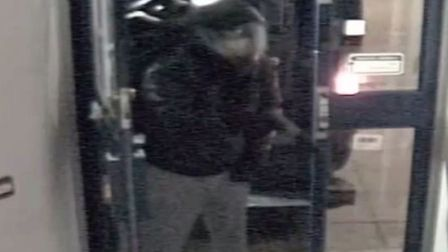 A CCTV still of one of the robbers. Picture credit: Met Police.