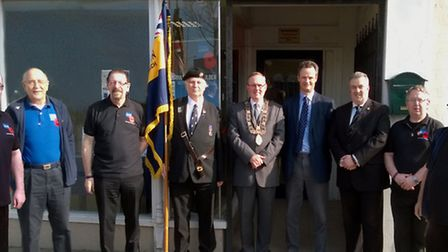 The Royal British Legion drop-in centre in Lowestoft has moved from its location in Station Square