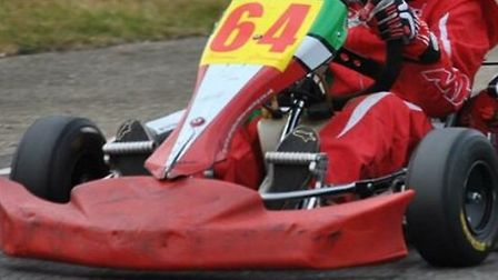 A child's go-kart was stolen from an outbuilding in Gisleham