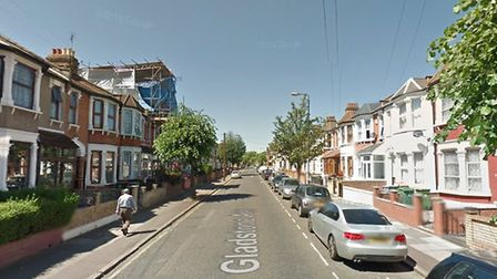 The two men were stabbed in Gladstone Avenue. Picture credit: Google.