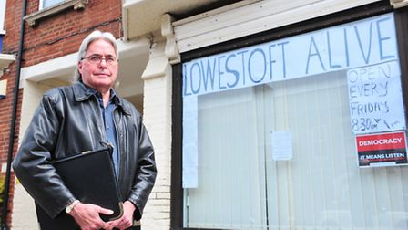 Tim Boardman has opened up a centre in Lowestoft for people to come in and raise their concerns with