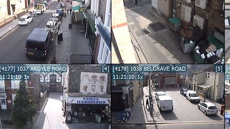 There are a number of HD cameras in fixed and roving locations in the borough. Picture: Redbridge Co