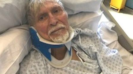 Ahmet Dobran, 82, who was robbed in East Ham