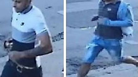 Police want to trace these men Picture: Met Police