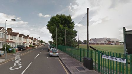 A woman in her 50s was physically assaulted on Cranbrook Rise, Ilford. Photo: Google
