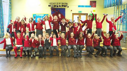 Pakefield Primary school children took part in the photo project.